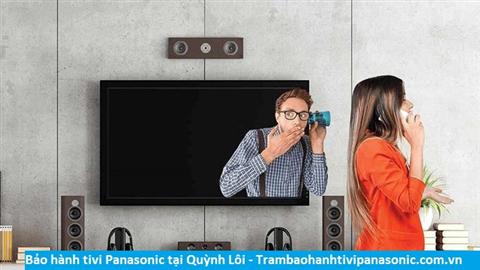 Bảo hành sửa chữa tivi Panasonic tại Quỳnh Lôi