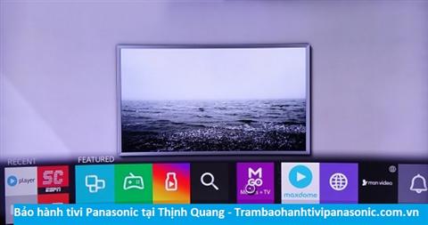Bảo hành sửa chữa tivi Panasonic tại Thịnh Quang
