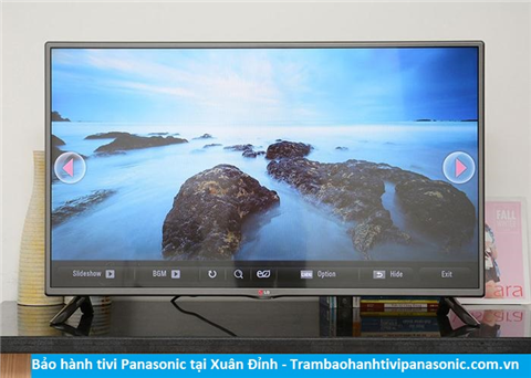 Bảo hành sửa chữa tivi Panasonic tại Xuân Đỉnh