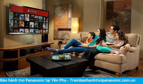 Bảo hành sửa chữa tivi Panasonic tại Yên Phụ